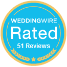 Wedding Wire 37 Reviews Badge